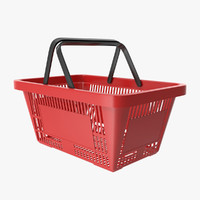 Shopping Basket 3D models