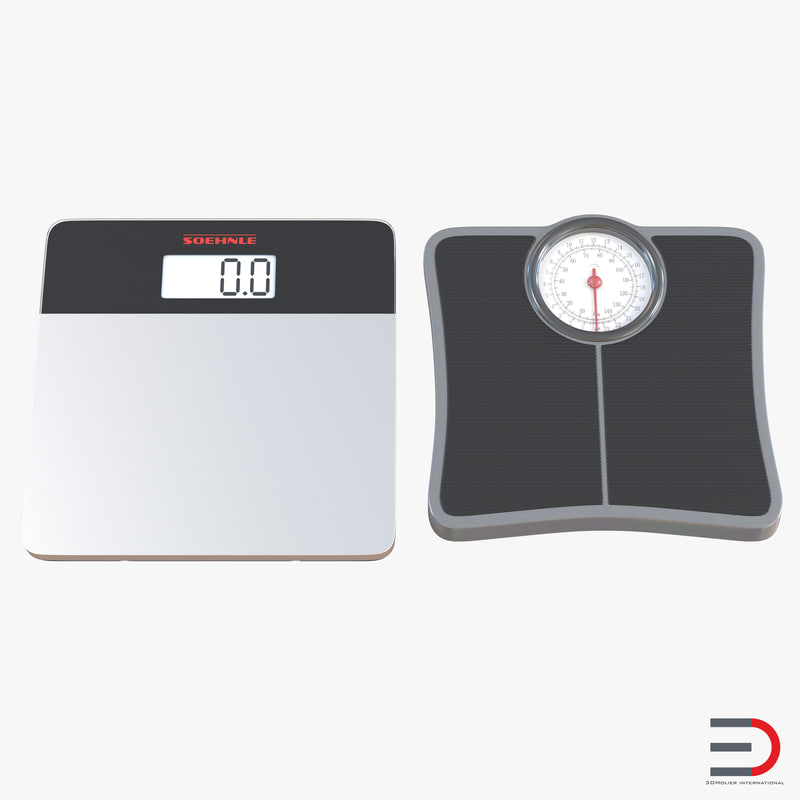 Bathroom Scale Collection 3d models 00.jpg