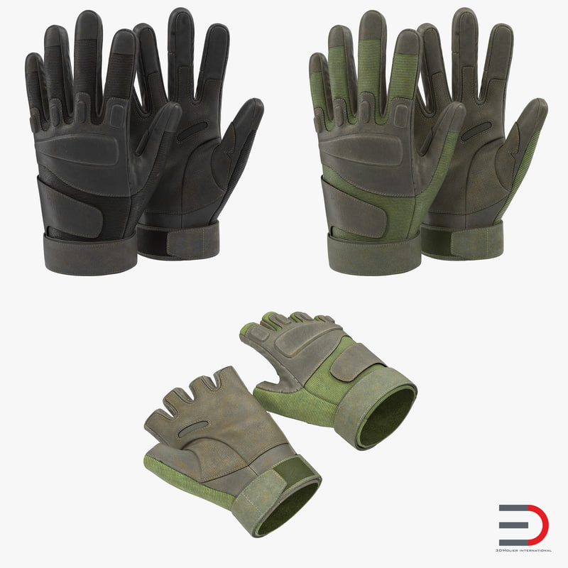 Military Gloves Collection 3d models 00.jpg
