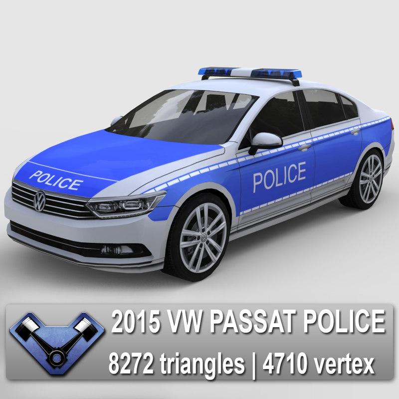 2015 Volkswagen Passat Tdi: Max 2015 Passat Police