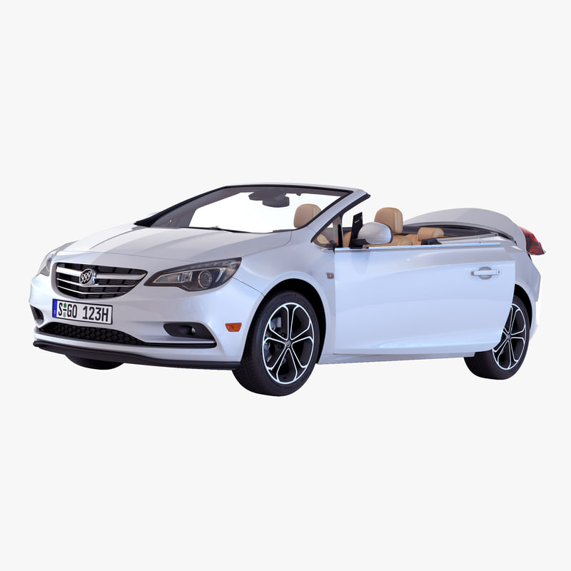 Model Of Buick Cascada 2016 Rigged By Molier International