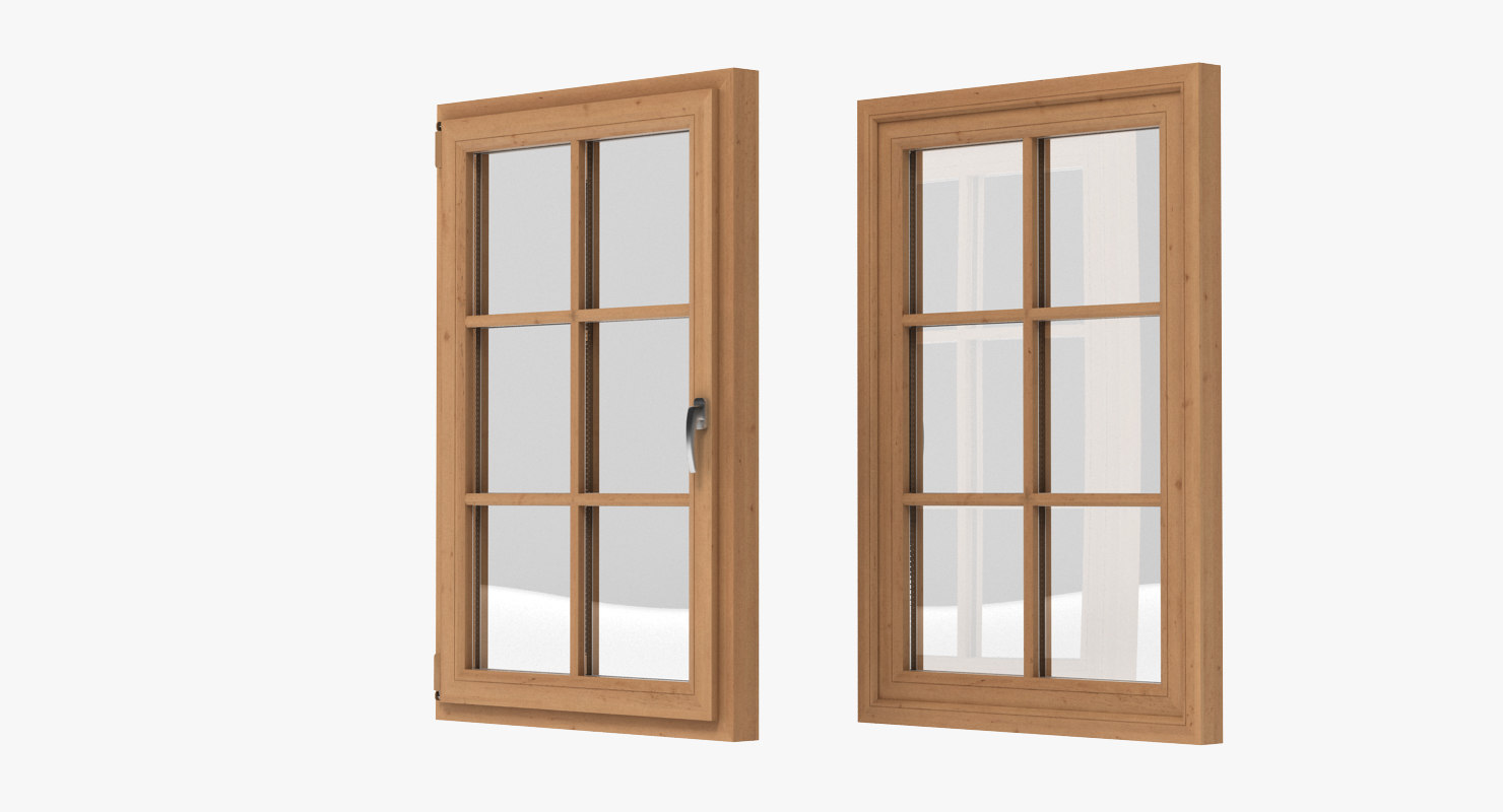 Window realistic 3d model for Window 3d model