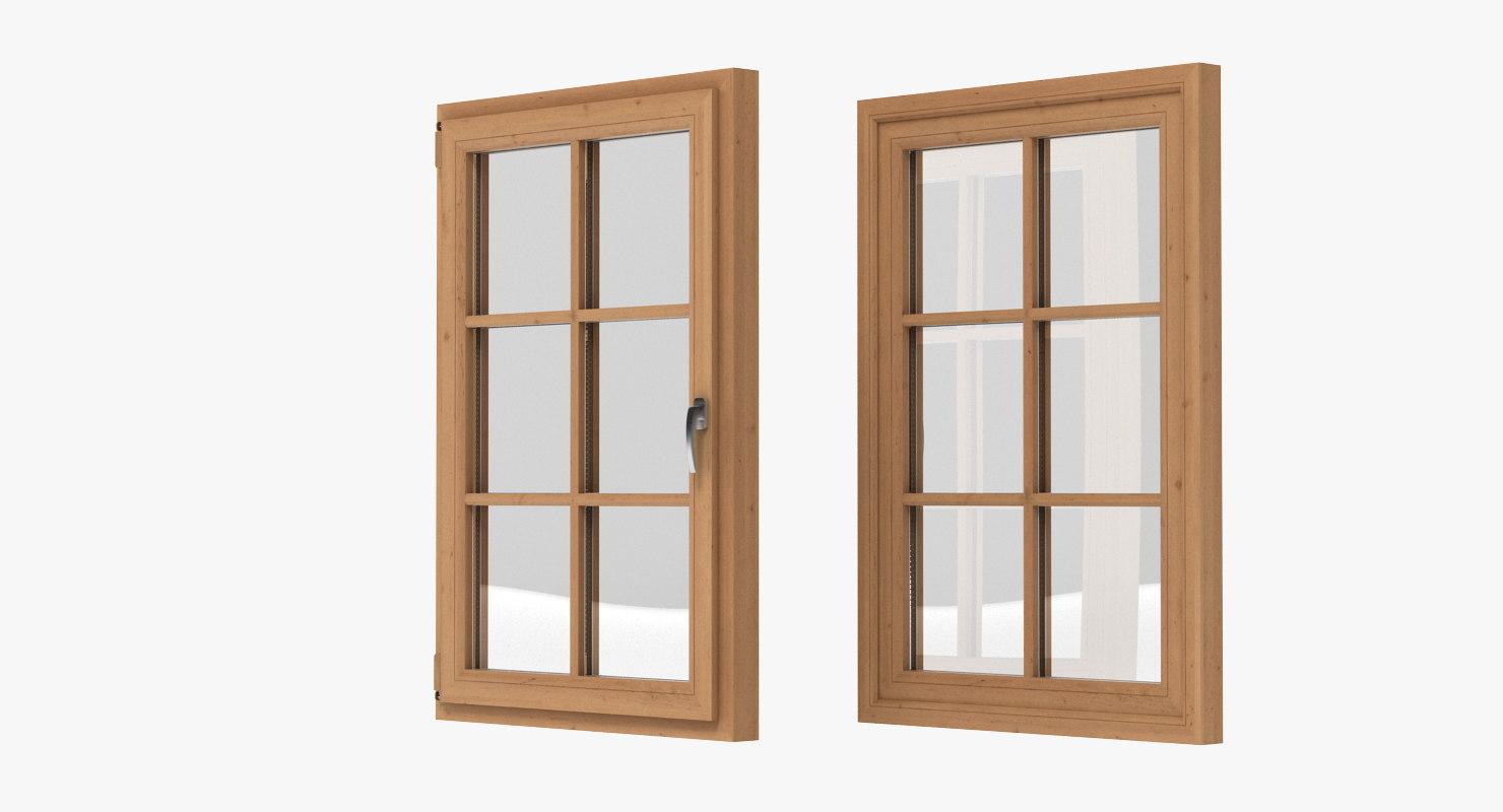 Window realistic 3d model for Window 3d model