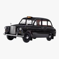 black cab 3D models