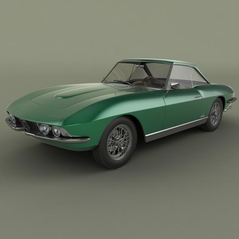 3dsmax Alfa Romeo 2600 Coupe