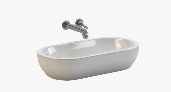 Catalano CX 70 Washbasin 3D Models