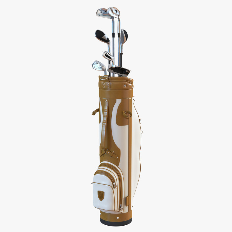 Golf Bag and Clubs 3d models 000.jpg