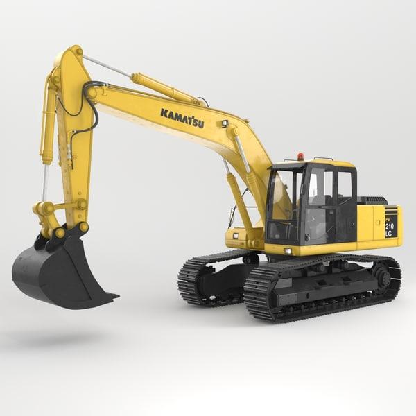 Excavator 3D Models