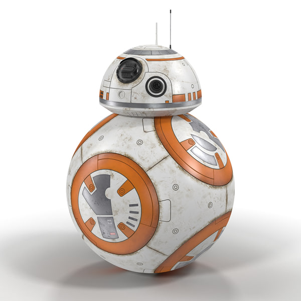 BB-8 Star Wars 3D Models
