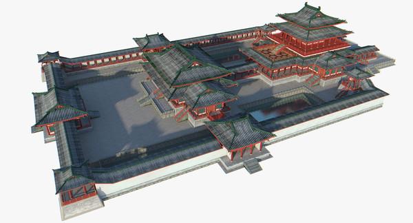 Penglai Palace 3D Models