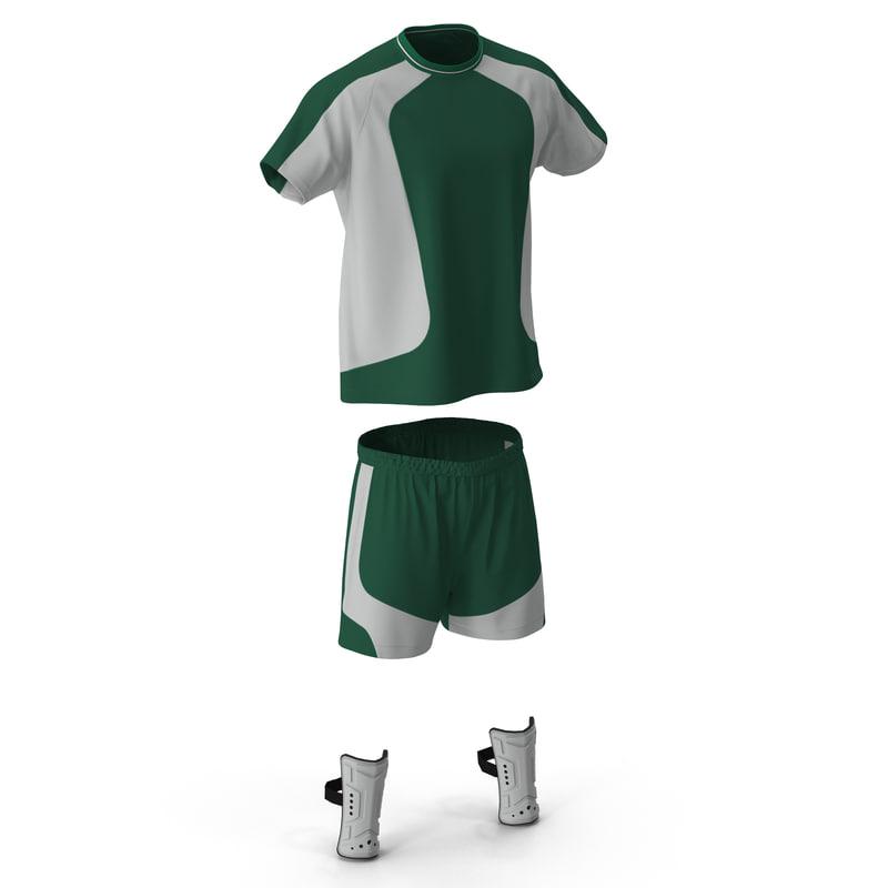 Soccer Uniform Green 3d models 01.jpg