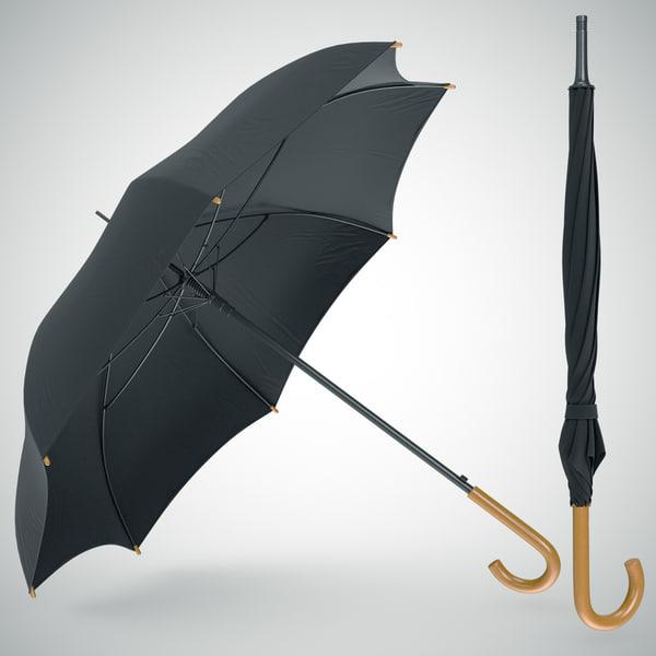 Umbrella Classic 3D Models