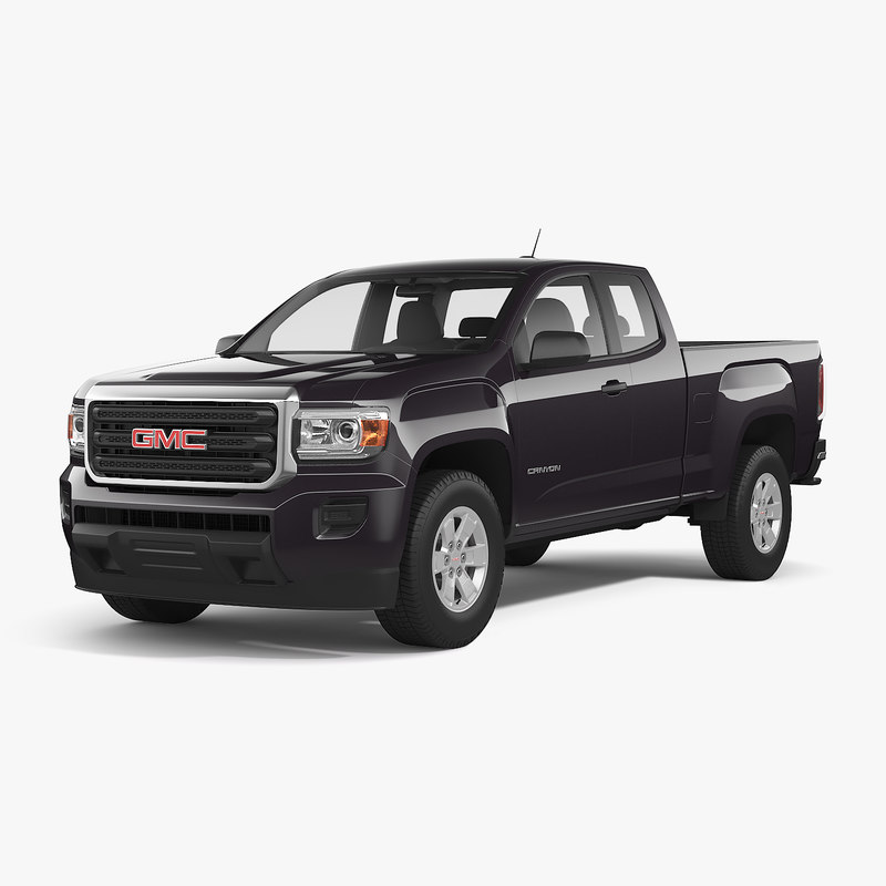 3dsmax Gmc Canyon 2016 Extended