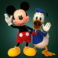Donald Duck 3D models