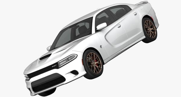 Dodge Charger SRT Hellcat 2015 3D Models