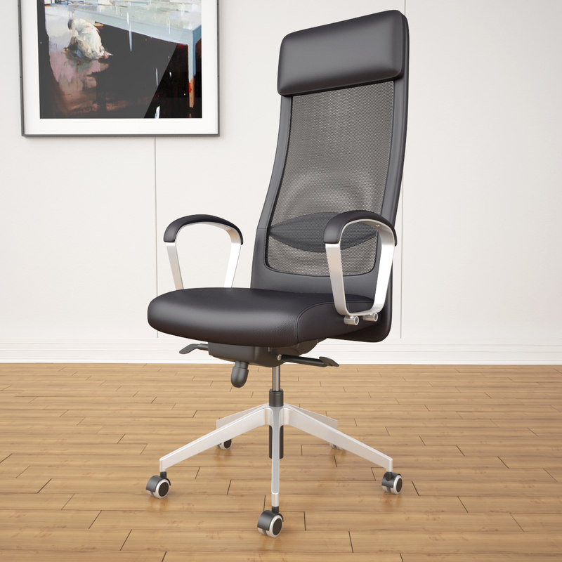 Ikea Markus Office Chair 3d Max