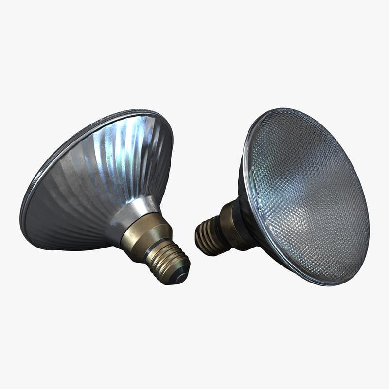 Flood Light Bulb 3d model 01.jpg