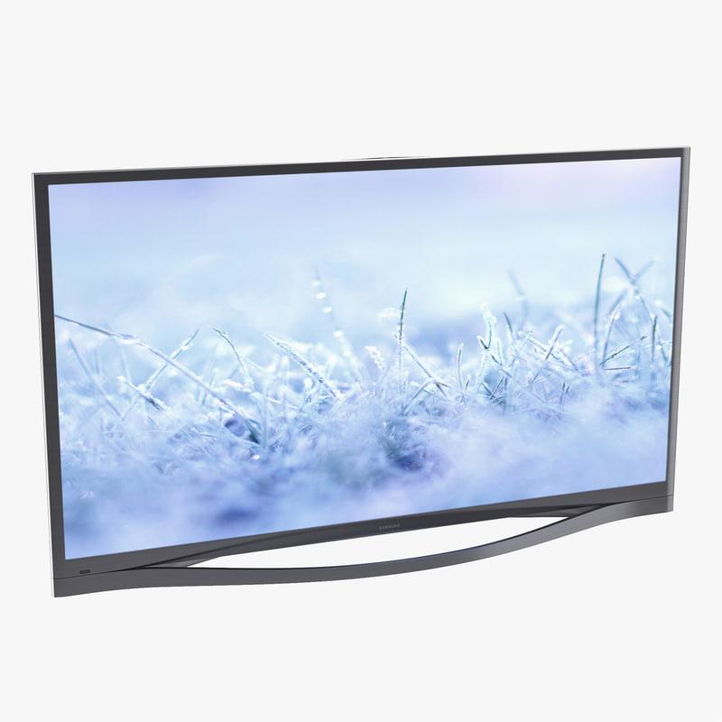 Samsung Plasma F8500 Series Smart TV 51 inch 3d model 01.jpg