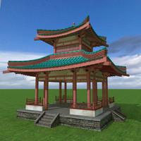 pagoda 3D models