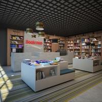 Book store 3D models