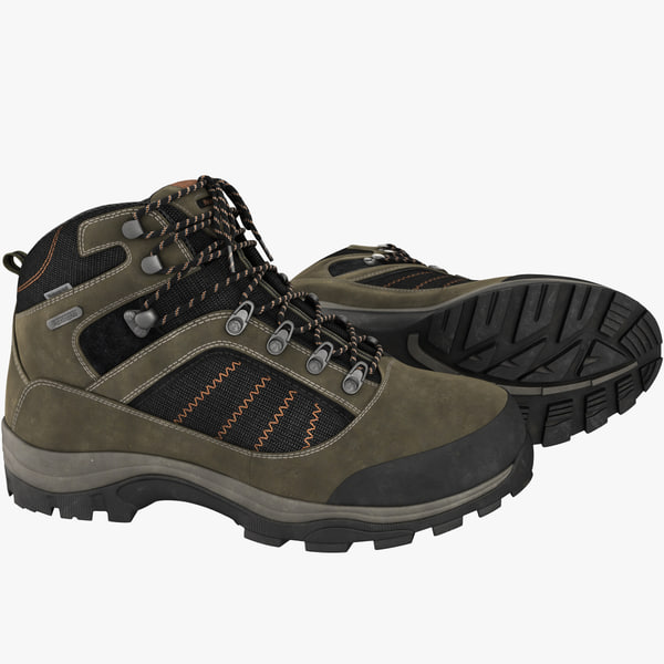 Hiking Boots 3D Models
