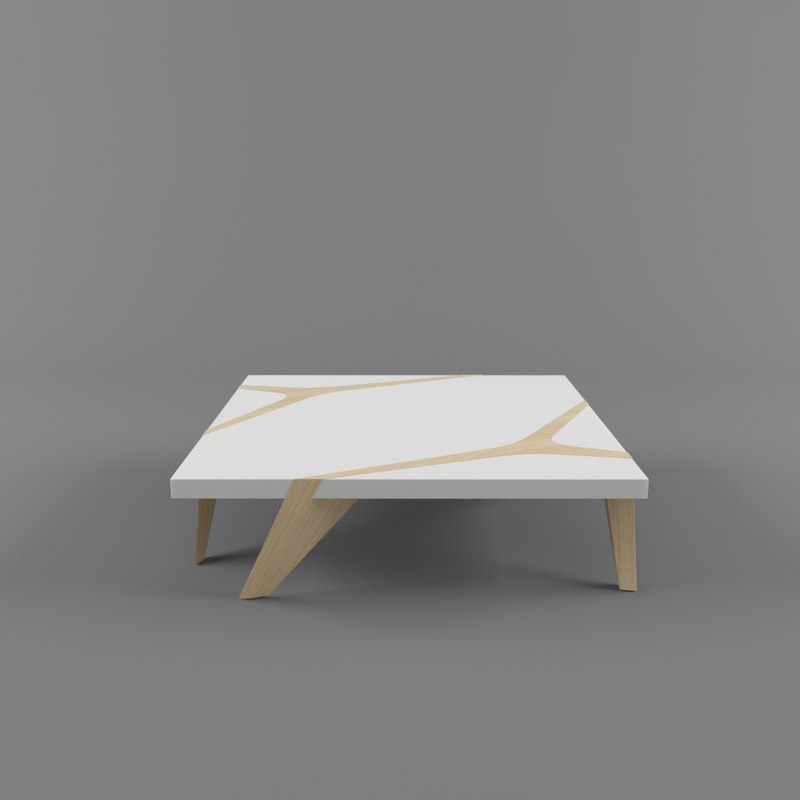 3d model roche bobois coffee table Roche bobois coffee table