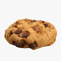 Chocolate Chip Cookie 3D models