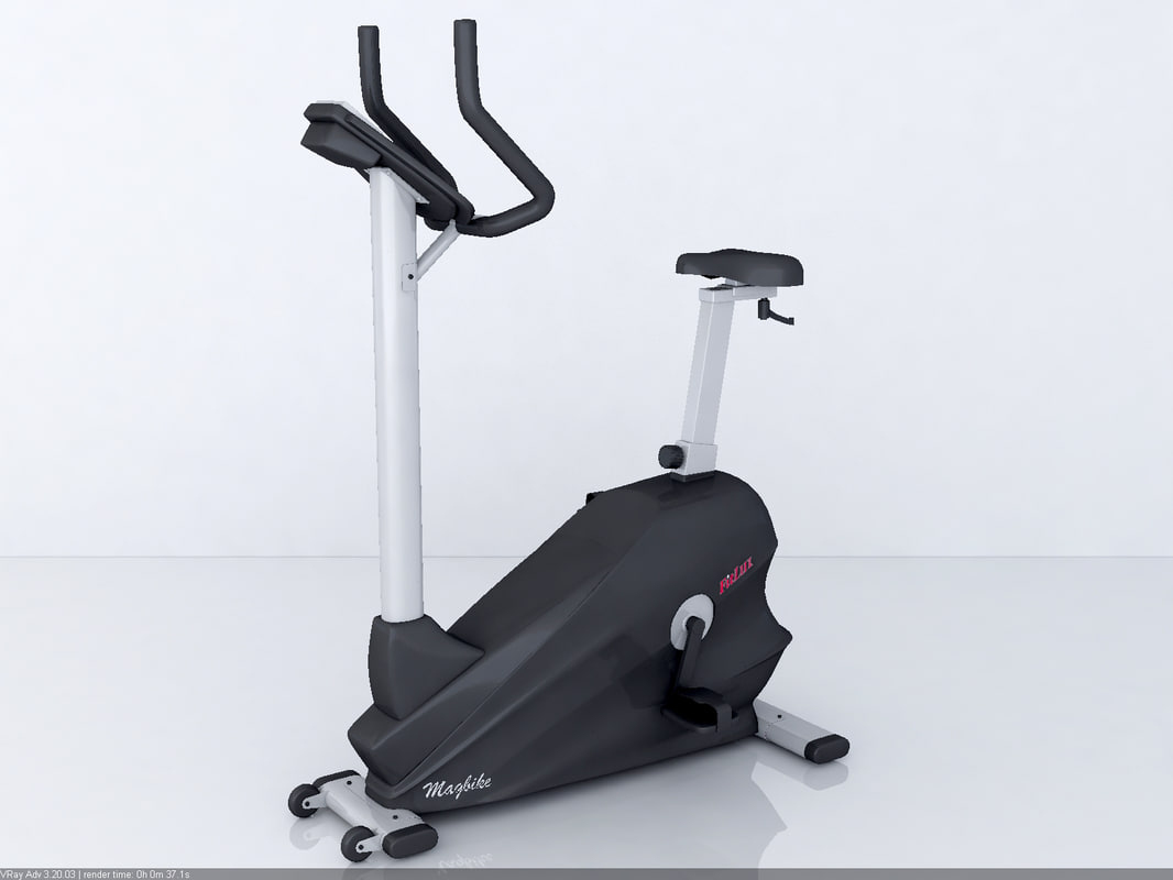 3d model fitlux 5000 gym equipment for Gimnasio 9 entre 40 y 41