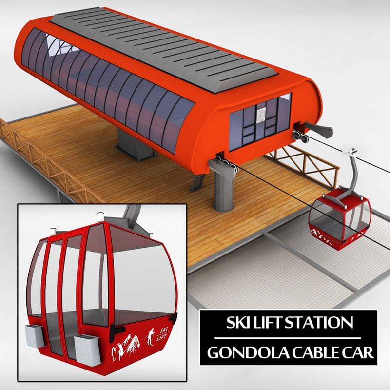 Ski lift station gondola cable car 01.jpg