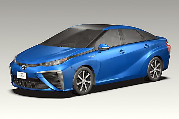 2016 Toyota Mirai 3D Models