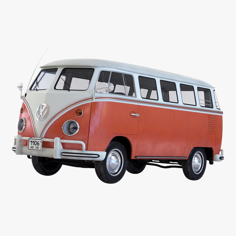 Volkswagen Type 2 Brown 3d model 01.jpg