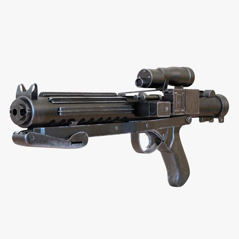 Star Wars Stormtrooper Gun Used 3d model 01.jpg