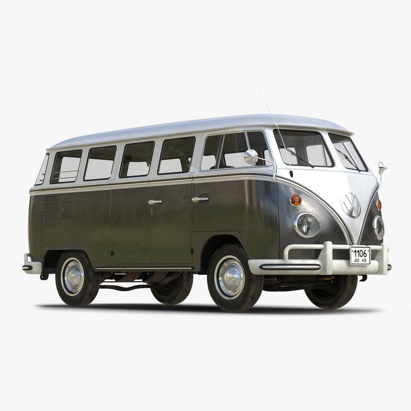 Volkswagen Type 2 Black 3d model 01.jpg