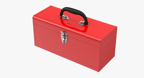Metal Tool Box 3D Models