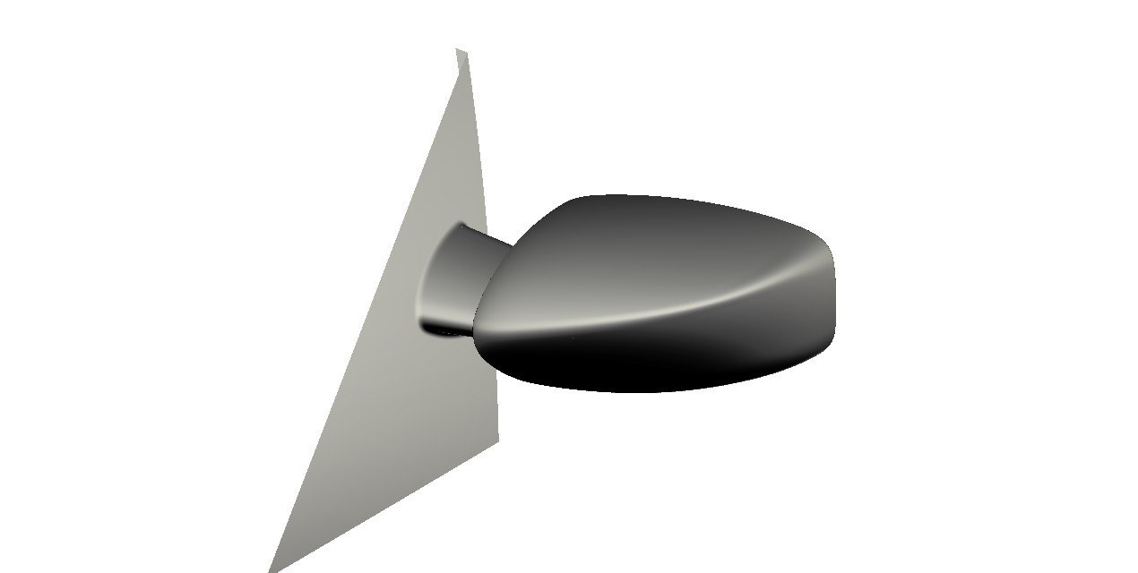 Generic car mirror 3d model for Mirror 3d model