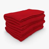 bath towel 3D models