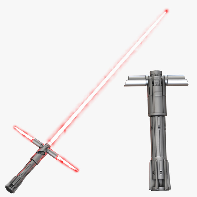 Kylo Ren Lightsaber Set 3d models 01.jpg