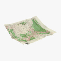 United States Map 3D models