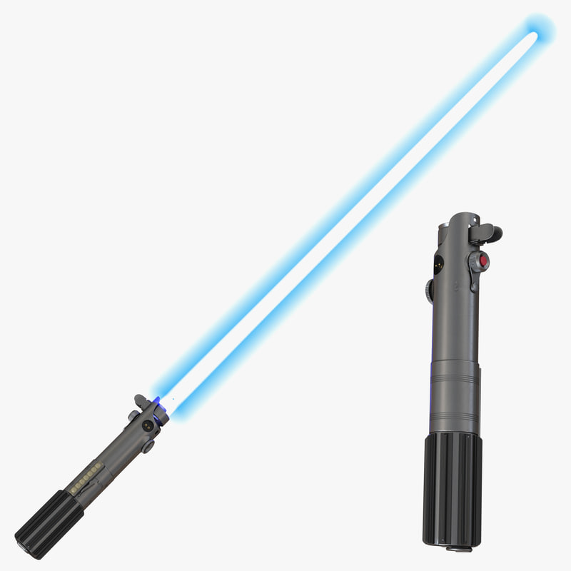Luke Skywalker Lightsaber Set 3d models 01.jpg