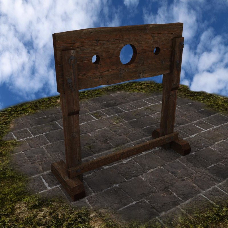Pillory and stocks porncraft image