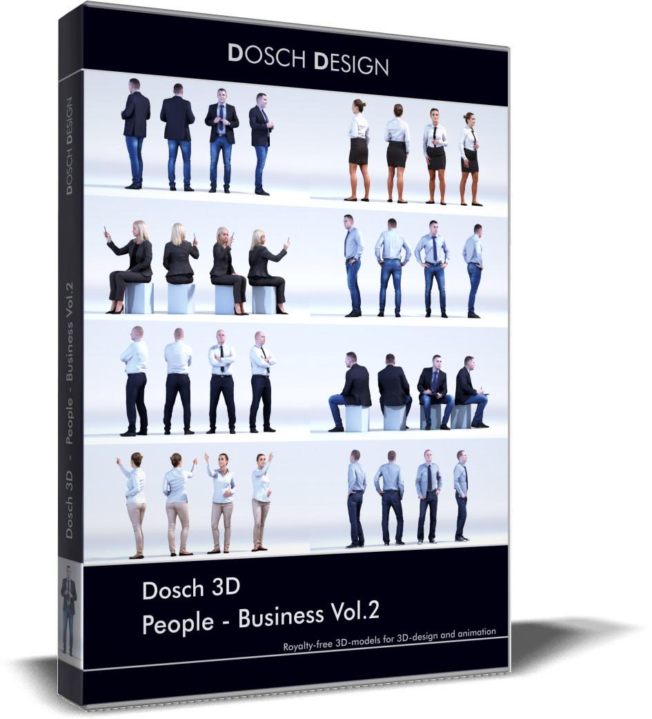People business vol 2 3ds for 3d models torrent