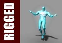 captain atom 3D models