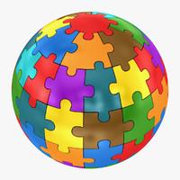 jigsaw puzzle 3D models