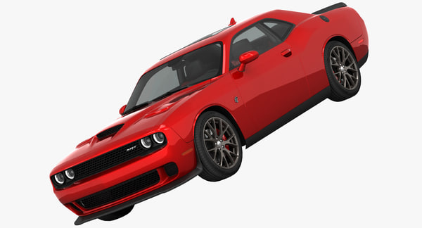 Dodge Challenger SRT HELLCAT 2016 3D Models