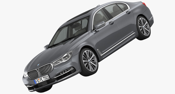 BMW 7-Series Design Pure Excellence 2016 3D Models