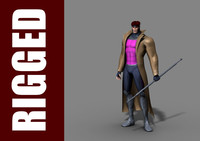 Gambit 3D models