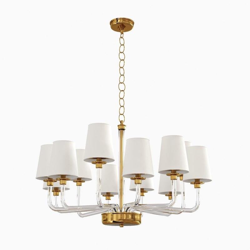 Searched 3d models for large chandelier parker large chandelier visual comfort lighting arubaitofo Choice Image