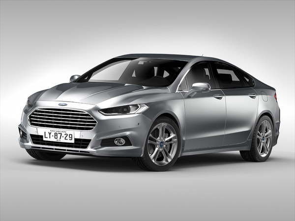 Ford Fusion (2015) 3D Models