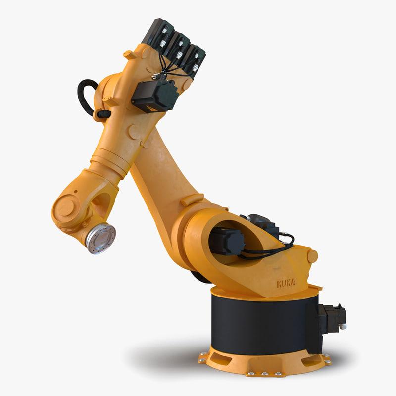 Kuka Robot KR-36 Fortec Rigged 3d model 00.jpg
