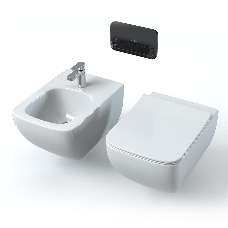 villeroy boch legato 3d model. Black Bedroom Furniture Sets. Home Design Ideas
